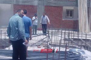 التحفظ على 200 لوح خشب يستخدم في اعمال بناء مخالفة بمدينة دمنهور