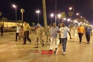 شن حملة مكبرة لازالة اشغالات شارعي النيل واللسان بمدينة رأس البر … صور