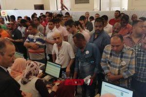 بدء انتخابات الغرفة التجارية بالإسكندرية.. صور