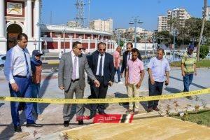 محافظ الإسكندرية يتفقد التجهيزات النهائية التي تمت بحديقة الإسعاف استعدادا لافتتاحها خلال الأيام القادمة