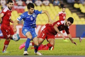 نتيجة مباراة أوزبكستان وسوريا ودية دولية