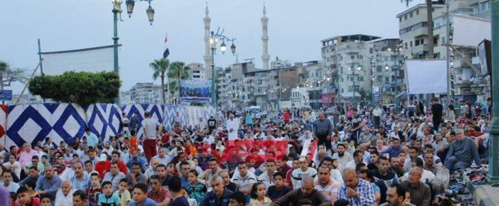 مواقيت ومواعيد الصلاة اليوم الخميس 9-4-2020 في محافظة دمياط