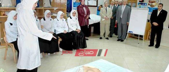 اعتماد نتيجة طالبات الفرقة الثالثة بمدارس التمريض بالإسكندرية