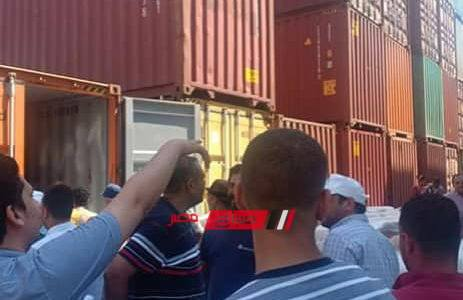 القبض على صاحب شحنة اقراص الكبتاجون المخدرة المضبوطة بميناء دمياط