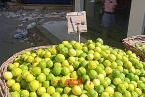 الليمون يصل لـ 100 جنية للكيلو بدمياط وسط غضب الاهالي وظهور حملات المقاطعة