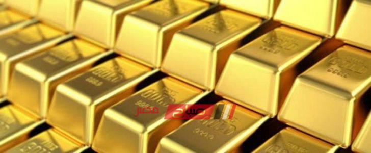 أسعار الذهب في مصر اليوم الخميس 22-8-2019