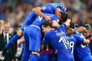 نتيجة مباراة إيطاليا مع البوسنة والهرسك