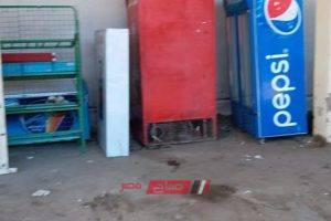 رفع 38 حالة إشغال بالطريق العام في حملة مكبرة بدمياط