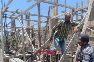 بالصور.. إيقاف أعمال بناء مخالف بحي العامرية بمحافظة الإسكندرية