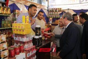 محافظ كفرالشيخ يتفقد معرض مبادرة كلنا واحد لتوفير السلع الغذائية للمواطنين