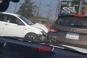 إصابة شخص في حادث تصادم مروع بدمياط … صور