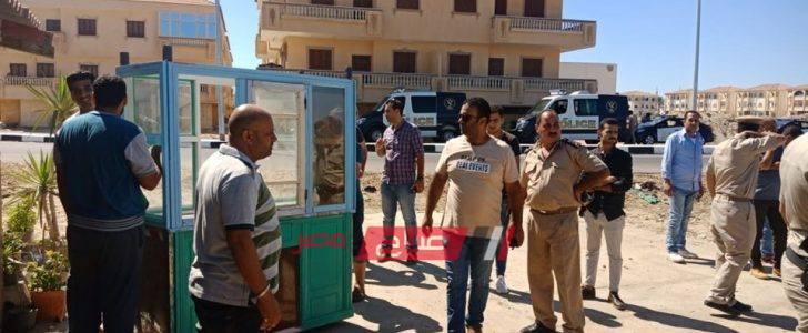 شن حملات مكبرة لازالة اشغالات مدينة رأس البر خلال أيام العيد