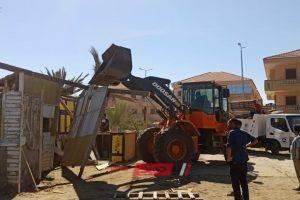ازالة 23 حالة اشغال وتعدي على ارض املاك دولة في حملة مكبرة برأس البر … صور