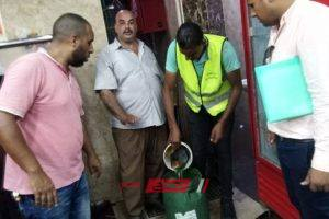 ضبط سلع غذائية غير صالحة للاستهلاك الآدمي بالإسكندرية