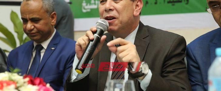 محافظ كفرالشيخ: إعلان البرنامج الزمني لتنفيذ ٩٩ مشروع صرف صحي علي مستوي المحافظة