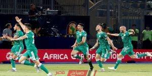 مباراة الجزائر وتنزانيا