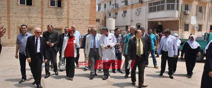 رئيس طب الأسنان بوزارة الصحة تفتتح وحده اسنان مستشفى الزرقا بدمياط