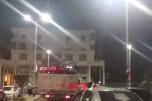 شن حملة مكبرة لازالة اشغالات دار مصر بدمياط الجديدة