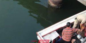 الانقاذ النهري في نهر النيل بدمياط