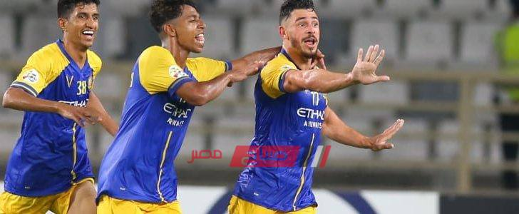 الدوري السعودي نتيجة مباراة النصر والتعاون