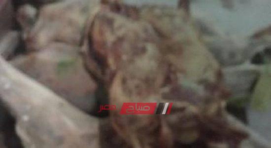 صور.. أمن الاسكندرية يضبط 2.5 طن لحوم غير صالحة قبل طرحها للبيع بالإسكندرية