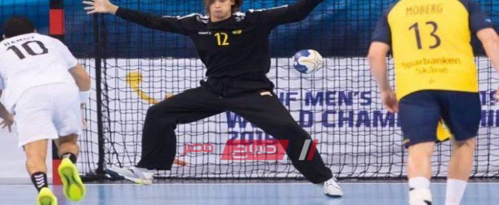 نتيجة مباراة مصر وايسلندا كرة اليد