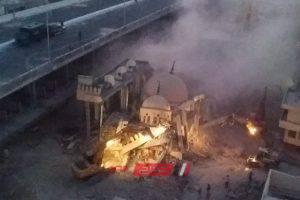 نقل ضريح الزرقانى بصورة نهائية إلى ميدان المساجد بالإسكندرية