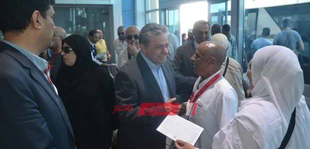 بدء وصول أفواج الحجاج إلى مطار القاهرة اليوم
