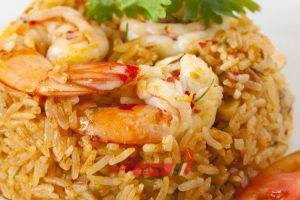 طريقة عمل أرز صيادية بالجمبري