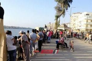 انتشال جثة شخص مجهول الهوية من مياه نهر النيل بدمياط