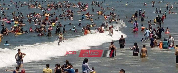 فريق الإنقاذ برأس البر ينقذ حياة 28 شخص من الغرق مع اعادة 683 طفل تائه الى أهلهم في ثالث ايام العيد
