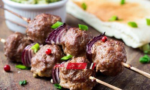 طريقة عمل كرات اللحم المشوية للرجيم