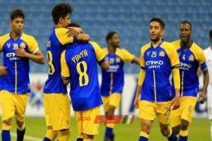 نتيجة مباراة النصر مع الوحدة دوري أبطال آسيا