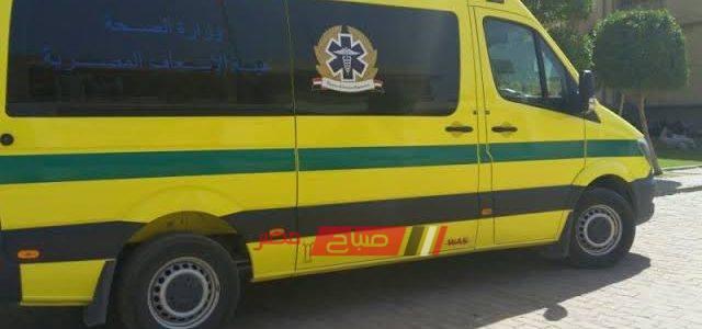 إصابة 15 بينهم 8 أطفال في حادث انقلاب ميكروباص في المنيا