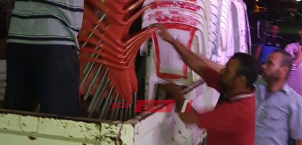 حملات إزالة إشغالات مكبرة غرب الإسكندرية