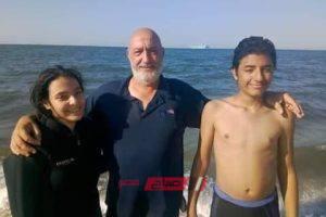 هشام الشوبكي غواص اشعل مواقع التواصل الإجتماعي لانتشال جثة الطالب الغارق أحمد مجدي