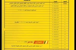 """""""التعليم """" الخريطة الزمنية للعام الدراسي 2020 ..صباح مصر"""
