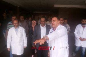 بالصور وكيل الصحة يتفقد مستشفى دمياط العام ويشدد على الانتهاء من قوائم انتظار المرضى