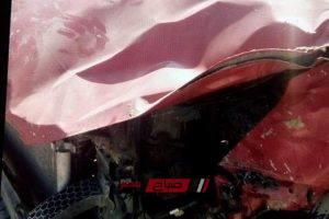 ننشر صور الحادث الذي راح ضحيته مشجع الزمالك ادهم الكيكي