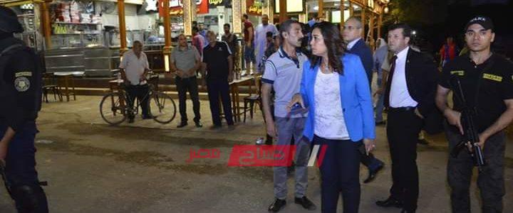 محافظ دمياط تقود حملة لرفع الإشغالات وتوجه بفتح الشوارع أمام المواطنين