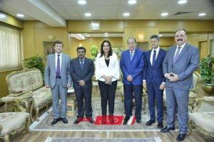 محافظ دمياط تستقبل نائب سفير دولة الهند بالقاهرة لبحث سبل تعزيز أواصر التعاون المشترك