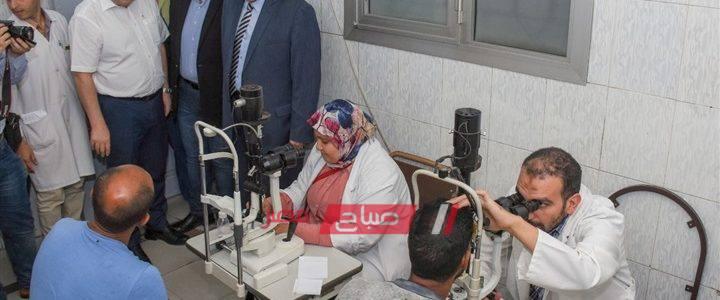 بدء تطوير مستشفى الرمد العام بمحافظة الإسكندرية