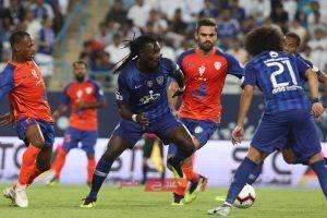 نتيجة مباراة الهلال والفيحاء الدوري السعودي للمحترفين