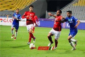 نتيجة مباراة الأهلي وسموحة في الدوي المصري