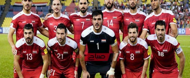 نتيجة مباراة سوريا والفلبين تصفيات آسيا المؤهلة لكأس العالم 2022