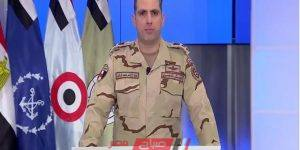 القوات المسلحة: صفحة المتحدث العسكرى على فيس بوك وتويتر المصدر الوحيد للمعلومات