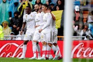 نتيجة مباراة ريال مدريد وأوساسونا في الدوري الاسباني