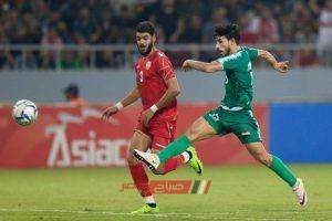 نتيجة مباراة العراق والبحرين تصفيات آسيا