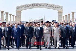 السيسي يتقدم جنازة الفريق إبراهيم العرابي رئيس أركان القوات المسلحة الأسبق