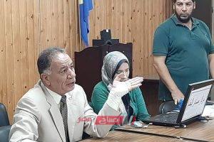 11305 طالب يؤدون امتحانات الصف الاول الثانوي ورقيا فى 65 مدرسة بدمياط